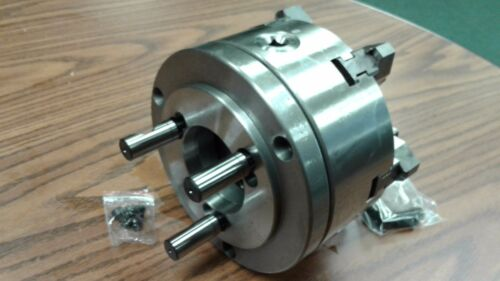 """top/&bottom jaws w D1-4 adapter-new 6/"""" 6-JAW SELF-CENTERING  LATHE CHUCK w"""