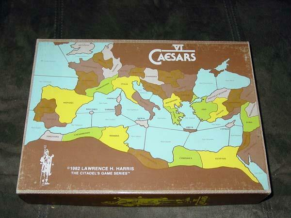 VI CAESARS - Citadel Game Systems 1982 Larry Harris Jr - Pre-Conquest of Empire