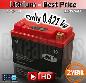Lithium Best Price Yamaha Yzf R 125 Li Ion Battery Save 2kg Ebay