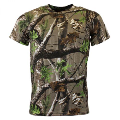 Game Trek Camo Realtree T-Shirt M-XXXL Camouflage Tarn Kurzarm Shirt