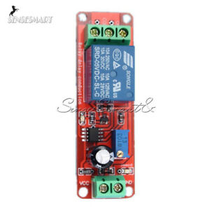 NE555 DC 5V Delay relay shield Timer Switch Adjustable Module 0 to 10 Second