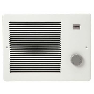 BROAN 170 Residential Electric Wall Heater, White