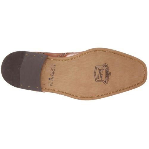 Details about  /Florsheim 14137-257 Castellano Wingtip Lace Saddle Tan Lthr, Cushioned Footbed