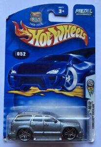 2003 HOTWHEELS Cadillac Escalade Grigio Bling! molto rara!