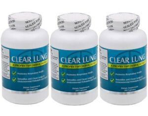 b8afb9200097 Details about 3 bottles NU-Health CLEAR LUNG 200 CAPSULES / bottle ,FRESH  FREE US SHIPPING
