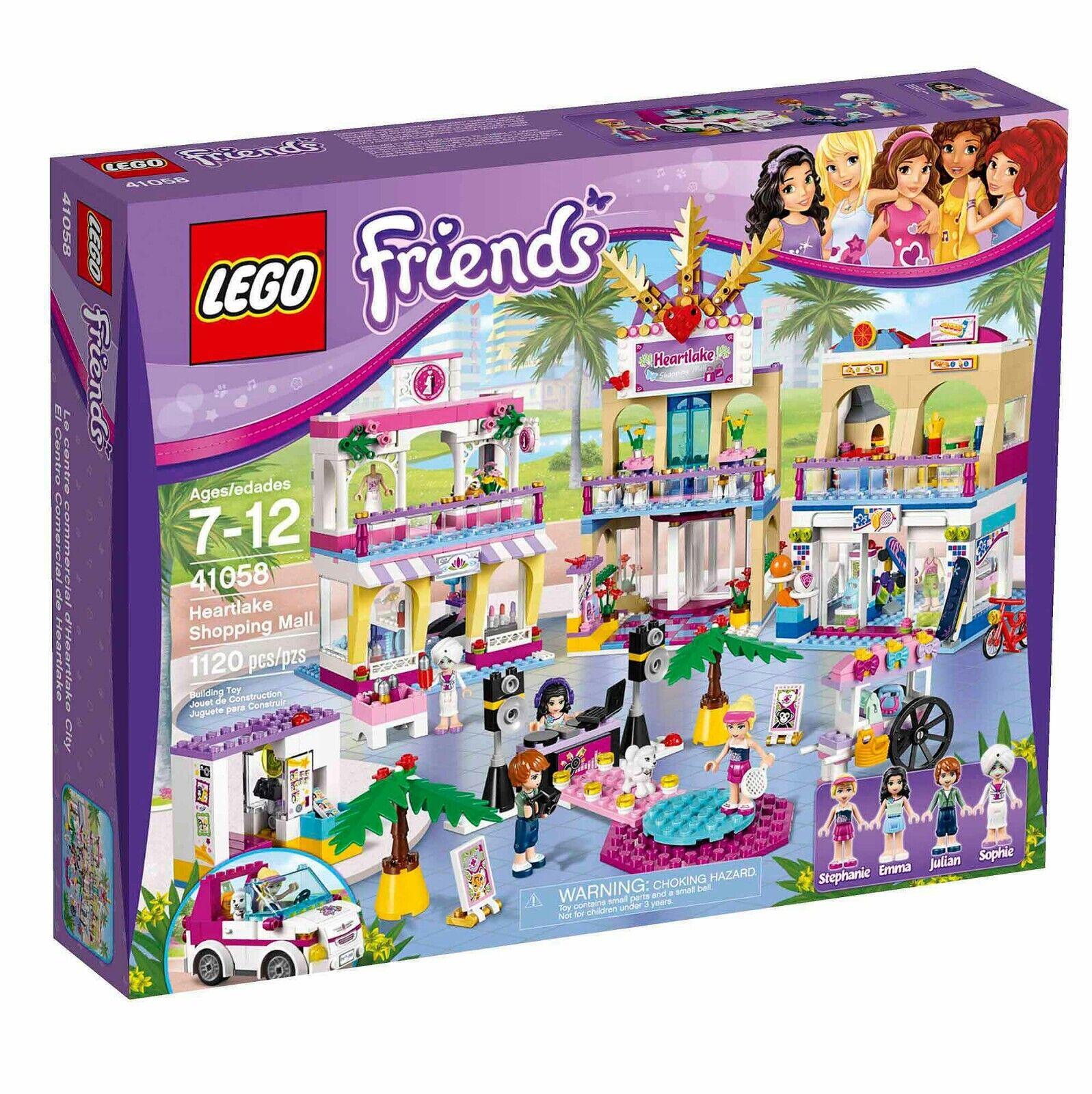 LEGO Friends Heartlake Centre commercial (41058) NEUF boîte scellée RARE RETIrouge