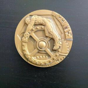 Superbe-medaille-Art-Deco-Jean-AUGIS-parfait-etat