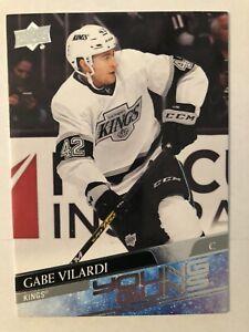 20-21 UD Series 1 Hockey Young Guns 215 Gabe Vilardi