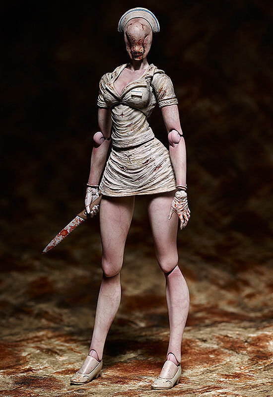 Figma Bubble Head Nurse Silent Hill 2 FREEing JAPON NEUF