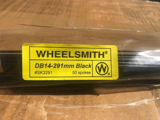 WHEELSMITH SS14 2.0 X 274MM SILVER BICYCLE SPOKES--PACK OF 50