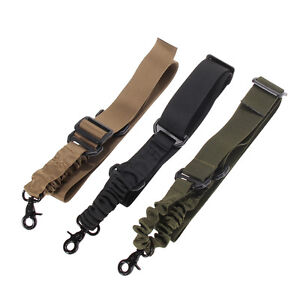 Adjustable-Tactical-1-One-Single-Point-For-Bungee-Rifle-Gun-Sling-System-Strap