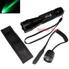 UltraFire 501B CREE Green light LED 1Mode Flashlight + Pressure Switch Holster