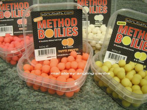 Méthode mixte sonubaits Boilies-Sonu