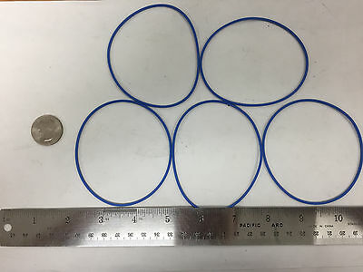 LOT OF 5 BLUE M25988//1-325  Packing Preformed O-Ring