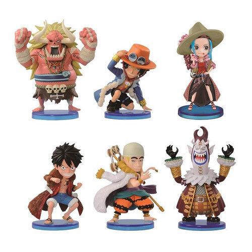 KG10 Banpresto Bandai Mini Figure Anime Manga NIB Luffy One Piece WCF NEW