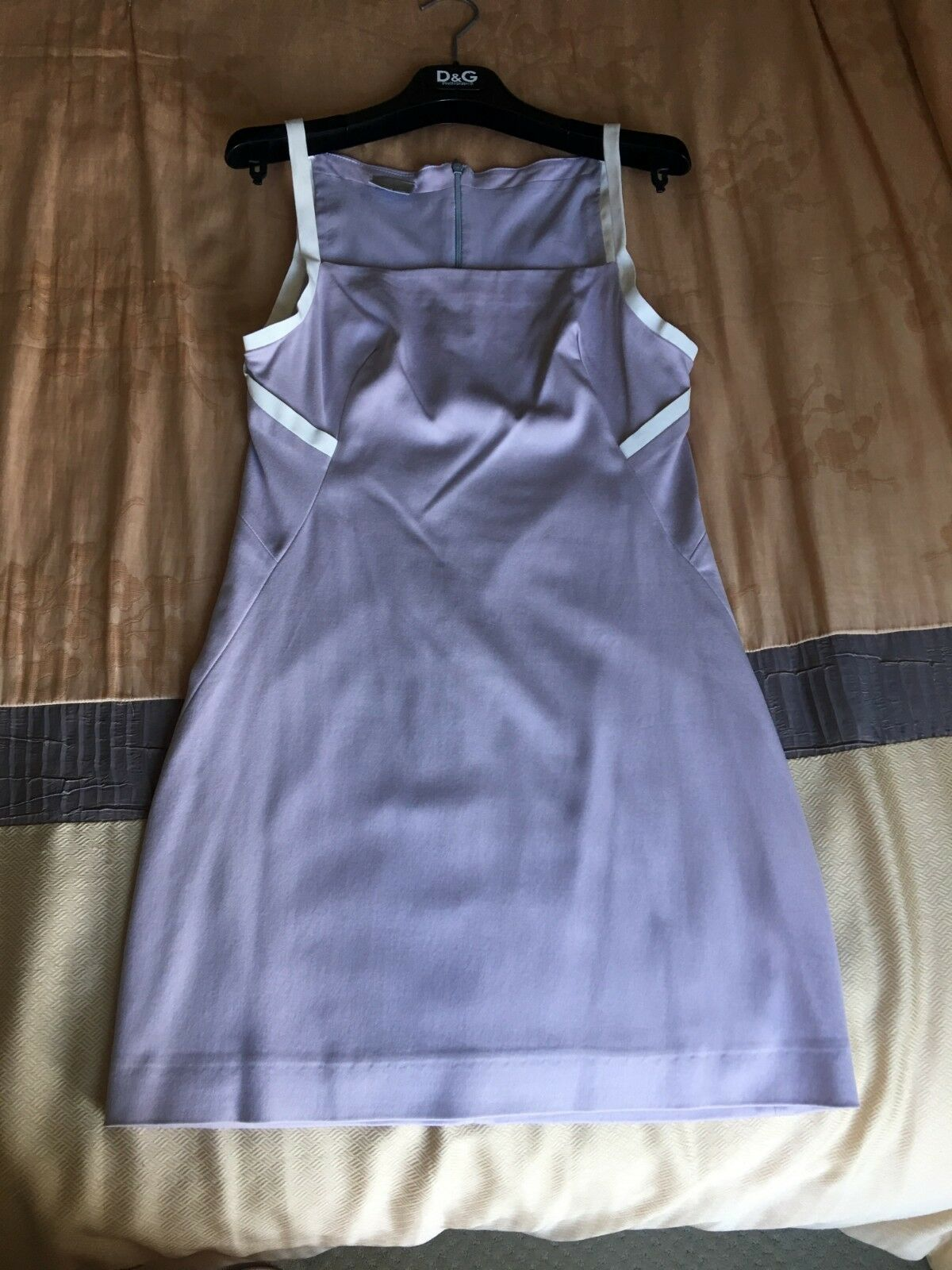 Sexy Versace Lavender Mini Dress, size Small