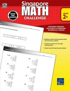 Details about Singapore Math Challenge, Grade 2+, Paperback by Chew, Terry,  ISBN-13 9781623