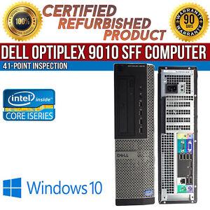 Dell-OptiPlex-9010-SFF-Intel-i5-8GB-RAM-500GB-HDD-Win-10-USB-VGA-B-Grade-Desktop
