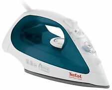 Tefal FV2650 Comfort Glide Anti Scale 2300W Steam Iron in White & Petrol Blue
