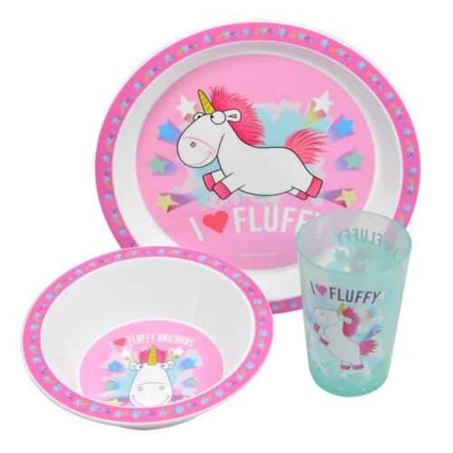 Despicable Me Fluffy Unicorn Lunch Accessories Assorted