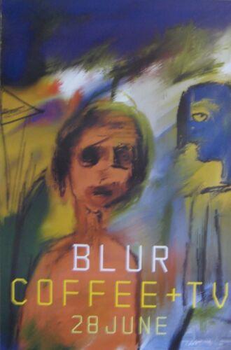 "40x60"" HUGE SUBWAY POSTER~Blur 1999 Coffee and TV 13 Damon Albarn Graham Coxon~"