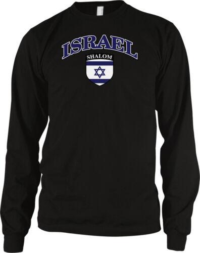 Israel Israeli Crest Country Flag Jerusalem Jewish Pride  Long Sleeve Thermal