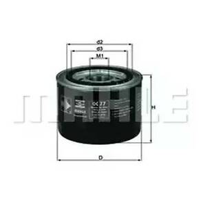 Cartouche-de-filtre-a-huile-Soparis-OC77-voitures-HONDA-annees-80