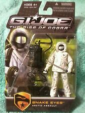 SNAKE EYES| Arctic assault |GI Joe Rise of Cobra|figure 2009 ROC