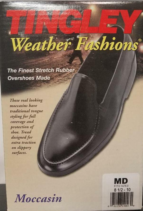 Tingley  1900 Stretch Boot shoes Moccasin Rubber Overshoes Galoshes Waterproof