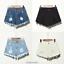 UK-Vintage-Ripped-Womens-High-Waist-Stonewash-Denim-Shorts-Jeans-Hot-Pants-6-22 thumbnail 10