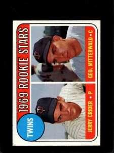 1969-TOPPS-491-JERRY-CRIDER-GEORGE-MITTERWALD-EX-RC-ROOKIE-TWINS-TWINS-R-X7554