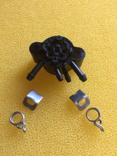 X5 Keramikventil Motorventil Ventilkörper inklusive Klemmen Jura Z5 Z7 Z9
