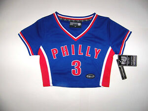 Philly-3-Kids-Girls-Basketball-Jersey-Top-Size-XS