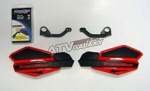 Powermadd-Yamaha-Raptor-700-Star-Handguards-Black-Red