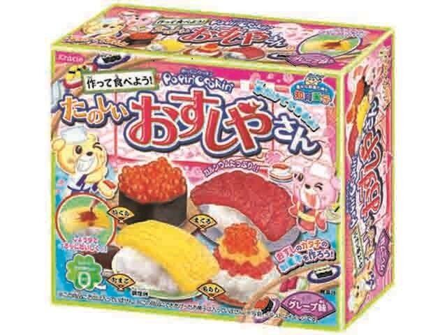popin cookin sushi kit kracie happy kitchen japanese candy kit