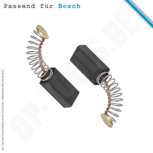 Kohlebürsten Kohlen Motorkohlen für Bosch 11215 DVSR 5x8mm 1617014114