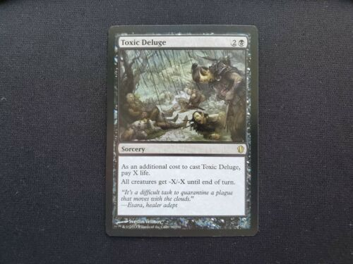 Toxic Deluge NM//SP Commander Multiple Available Mtg Magic Free Tracking!