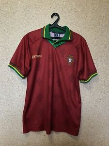 big sale f626f 2f3ab Details about PORTUGAL NATIONAL TEAM 1995/1996 AWAY FOOTBALL SHIRT JERSEY  OLYMPIC VINTAGE