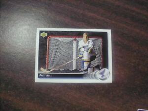 BRETT-HULL-1992-UPPER-DECK-HOCKEY-CARD-29-ST-LOUIS-BLUES