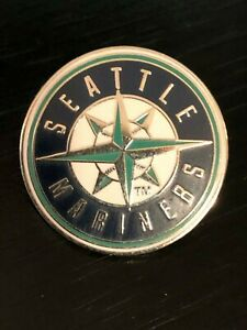 Vintage-Collectible-Seattle-Mariners-2001-Colorful-Metal-Pinback-Lapel-Pin