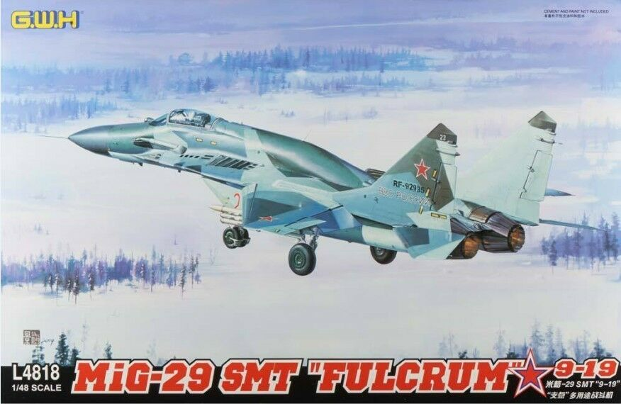 GreatWall 1 48 L4818 Mig-29 SMT  Fulcrum  9-19