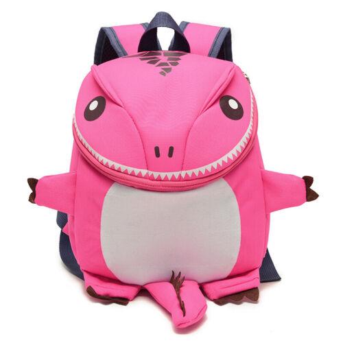 GRAZIOSA stampa dinosauro 3D Zaino Ragazzi ragazze zaino spalla a mano cartoon bags