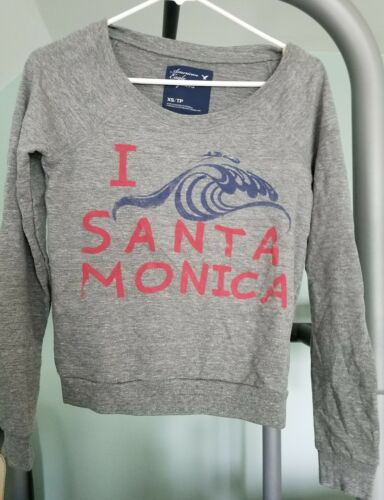 AMERICAN EAGLE OUTFITTERS SANTA MONICA SWEATSHIRT BRAND NEW