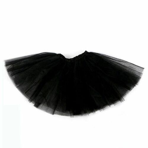 Kids Baby Girl Three Layered Ballet Dance Tutu Skirt Classic Mini Pleated Dress