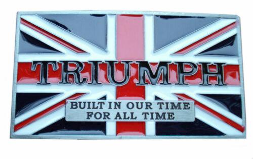 UK Retro Cowboy Style Britain Flag Zinc-Alloy Pin Buckle For 38~40MM Belt Nice