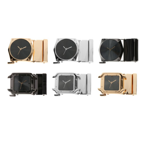 High Quality Belt Buckle Only Automatic Slide Buckle 1.4/'/' Leather Waistband