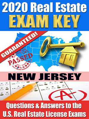 2020 New Jersey Psi Real Estate Exam Prep Study Guide Questions Ans Cd Rom Ebay