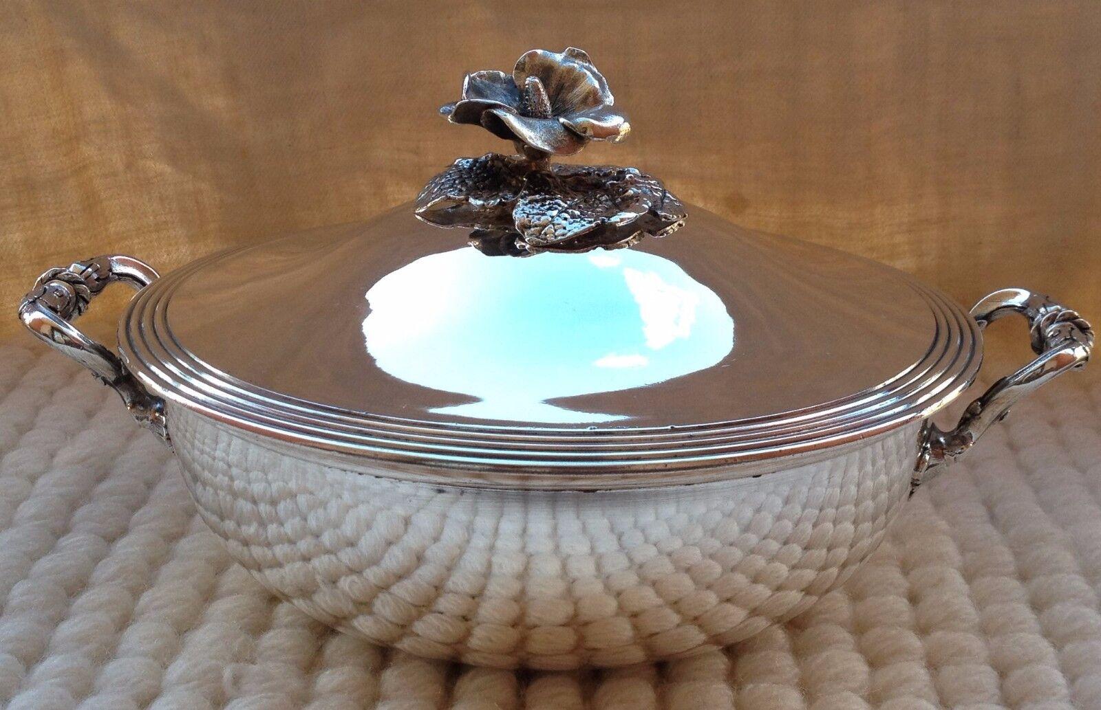 Petit légumier en métal plataé Christofle