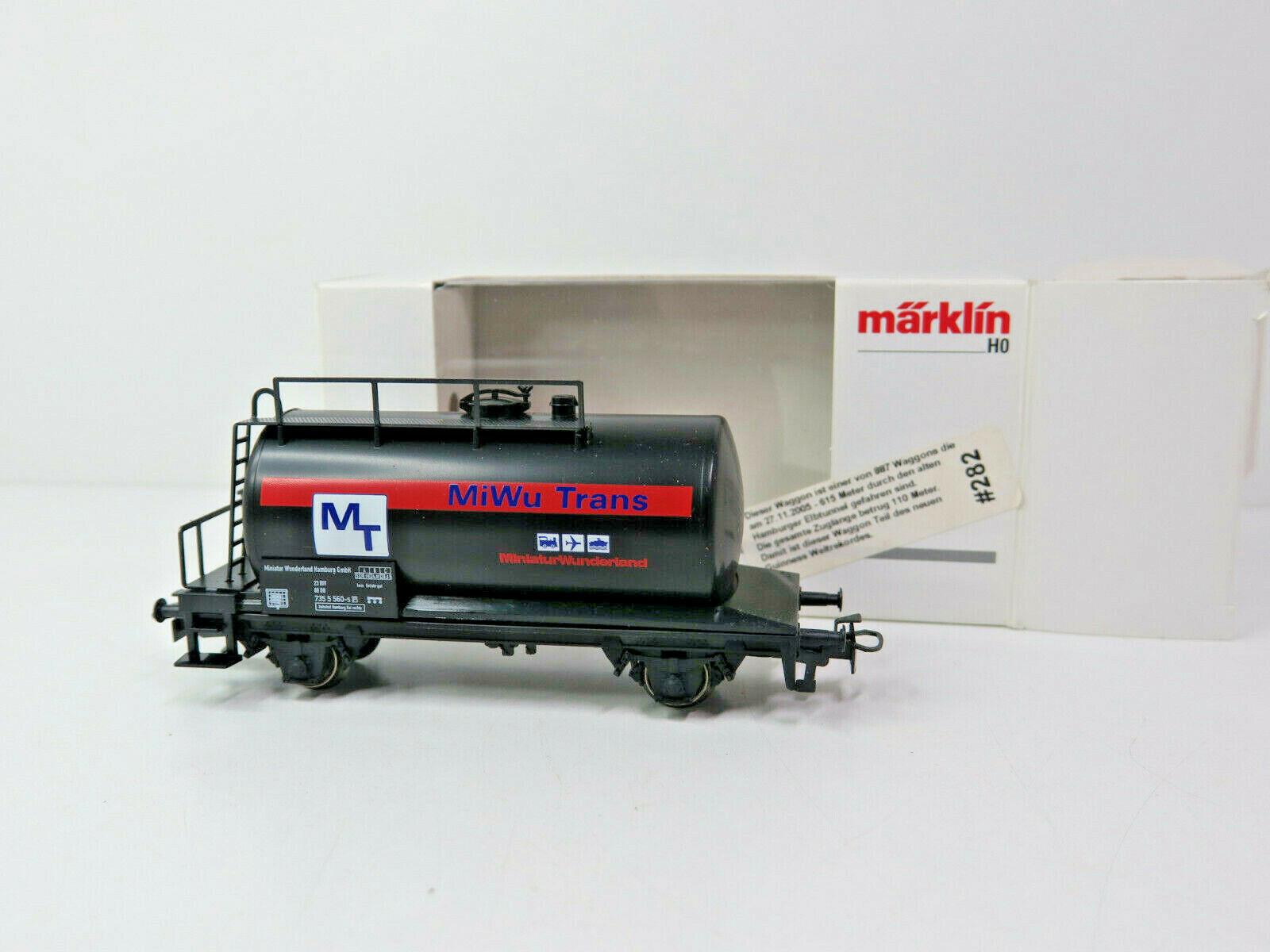 Kesselwagen MiWu Trans DB,Rekordzug 2005,1000 St.,Märklin HO,4441.070,OVP,TOP,KV