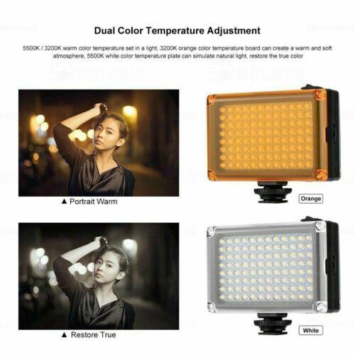 Rechargeable 96 LED Video Light Pocket Camera LED Light  Mini Hot Shoe Fill Lamp
